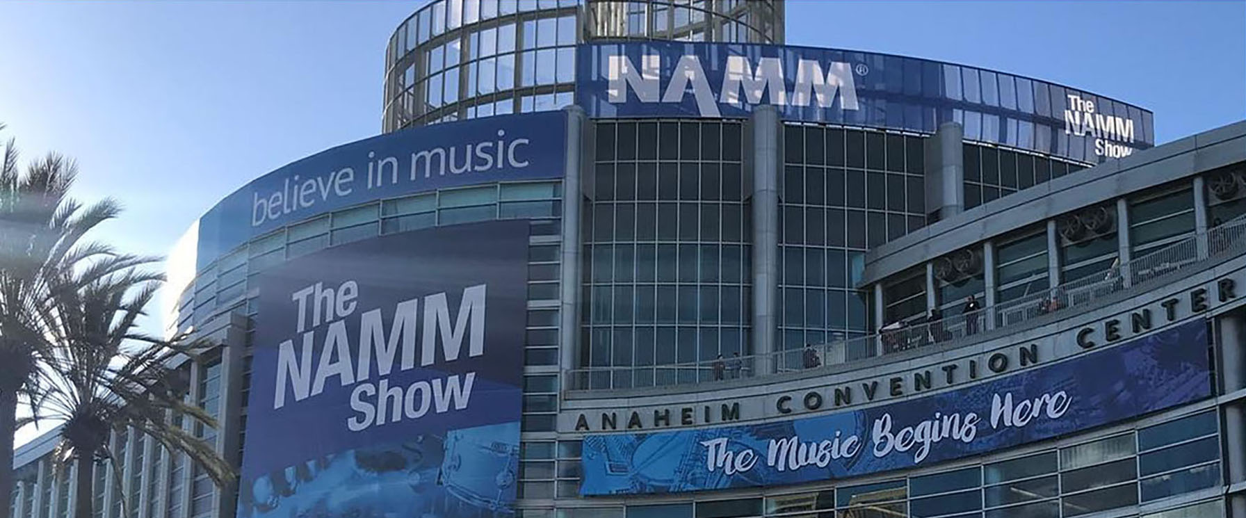 NAMM Show at the Anaheim Convention Center